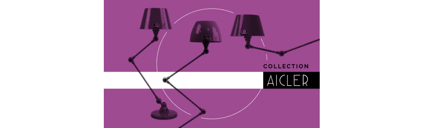 Jieldé Aicler Collection Industrial design lamps Made in France